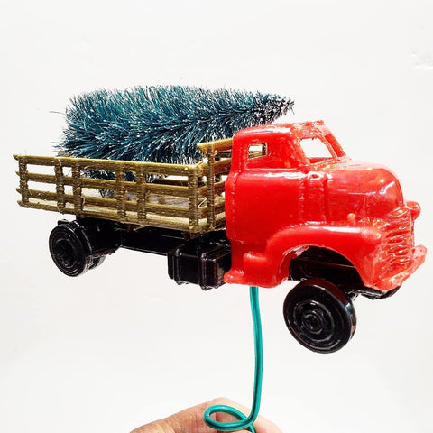 Vintage Truck Tree Topper