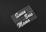 Letter Board Boss Set (3pcs)