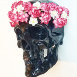 BIG Skull Wall Art, Grateful Dead Skull, Faux Taxidermy Skull, Hippie Skull