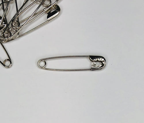 100 Pack Safety Pins - size #2