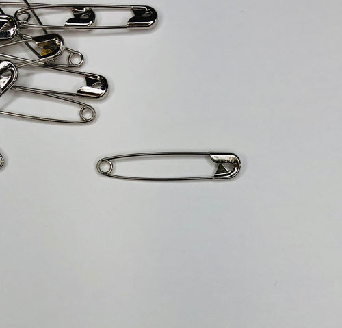100 Pack Safety Pins - size #3