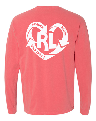 Reduce. Reuse. Rhea Lana's Long Sleeve Tee  **CYBER MONDAY SPECIAL**