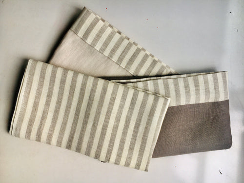 Linen Tea Towels - Striped Selection