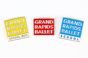 Grand Rapids Ballet Enamel Pins