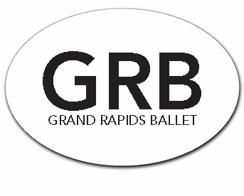 Grand Rapids Ballet Car Stickers