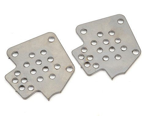 CBE RC FAB YETI SHOCK TABS (2PCS)  ( raw steel )