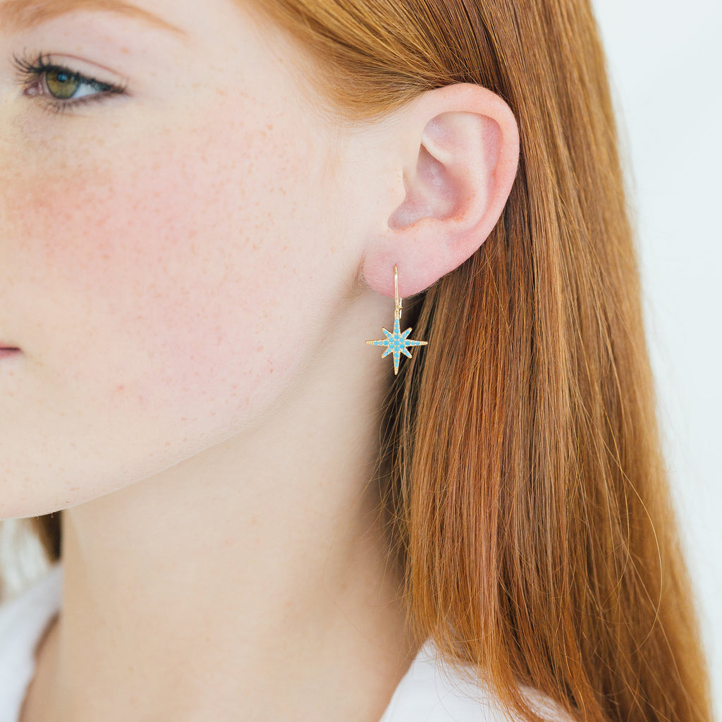 Cressida Earrings - Stripe & Petal Jewelry