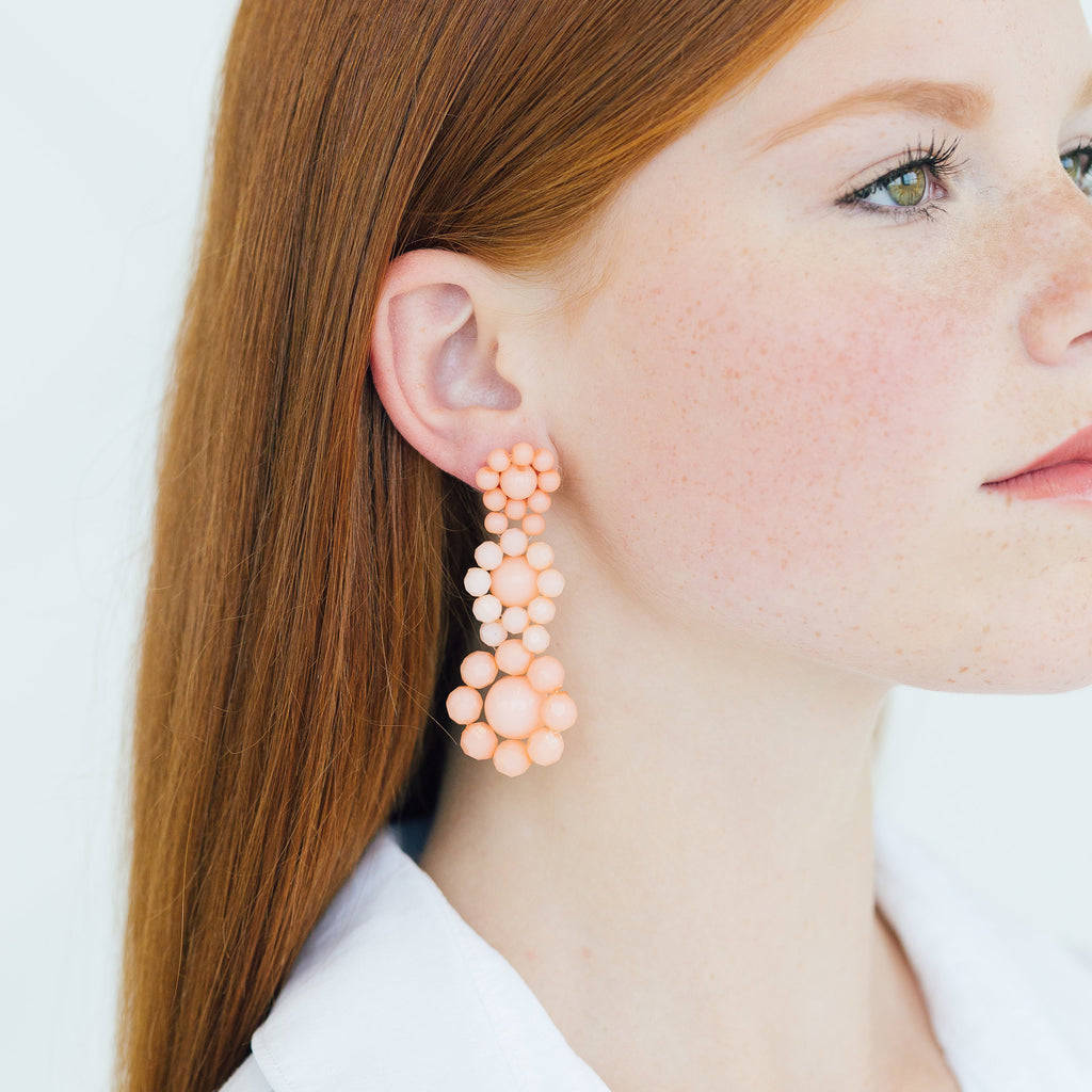 Dashia Earrings - Stripe & Petal Jewelry