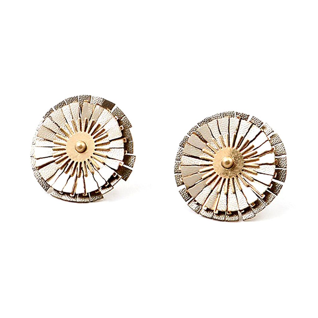 Isadora Earrings - Stripe & Petal Jewelry