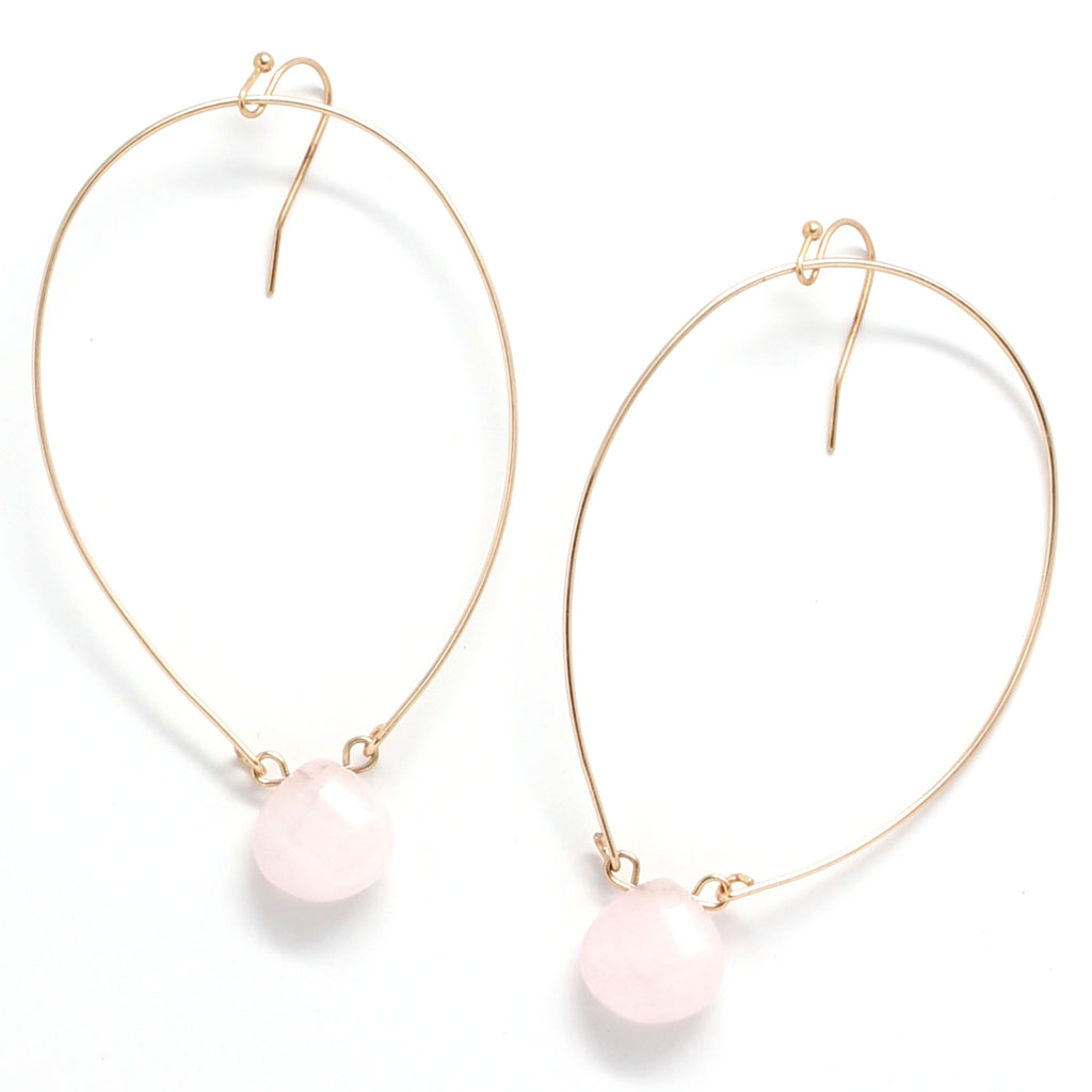 Jessica Earrings - Stripe & Petal Jewelry