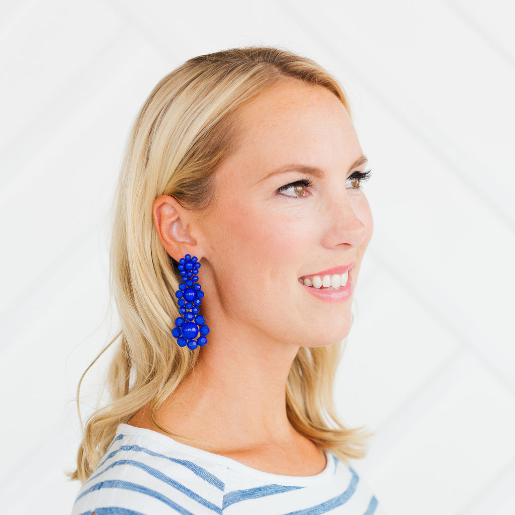 Zoe Earrings - Stripe & Petal Jewelry