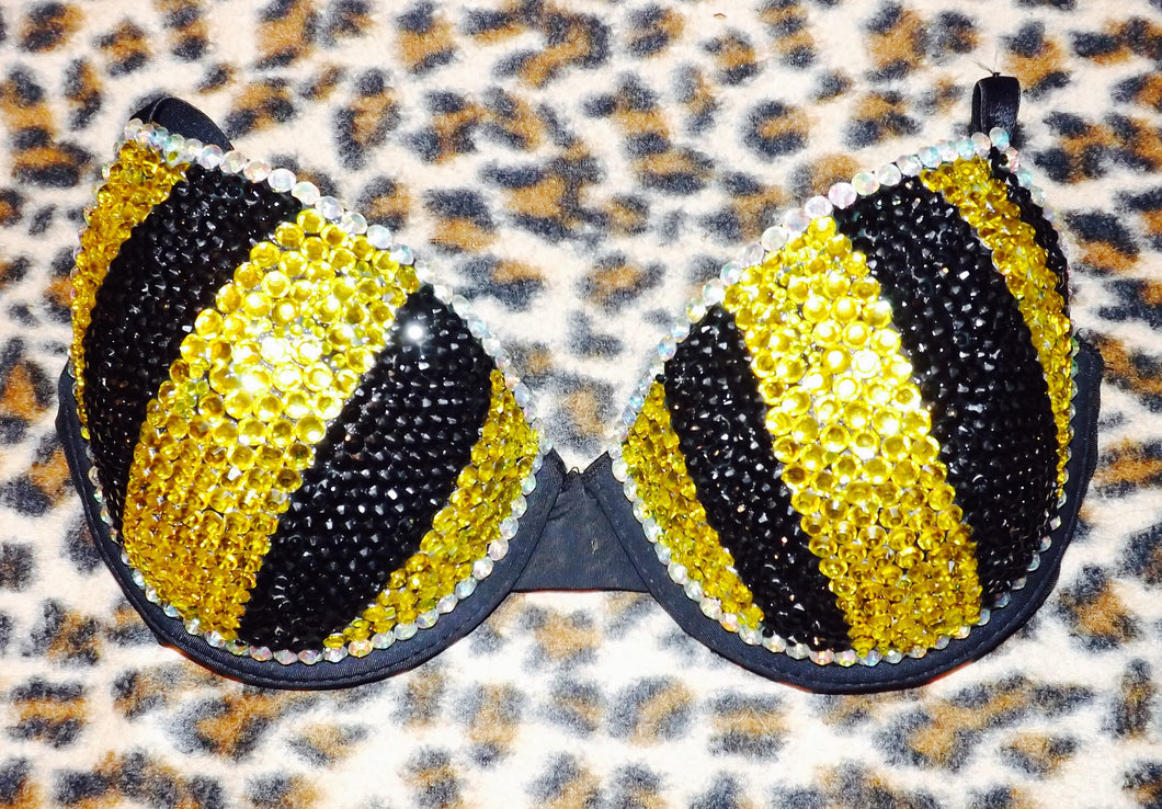Yellow & Jet Black Diamonds