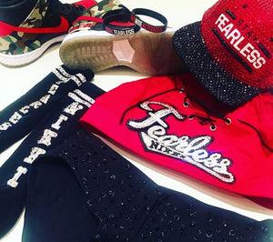 "Nikki Bella ""Stay Fearless"" Snap Back Baseball Hat Style II"