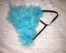 "Sky Blue ""Whipped"" Feathers G Style"