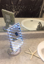 "Impressions LED Light Up Vanity Mirror ""Oh My Glam"" Beauty Essentials"