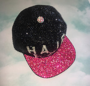 "Custom ""Make A Statement"" Snap Back Baseball Hat"