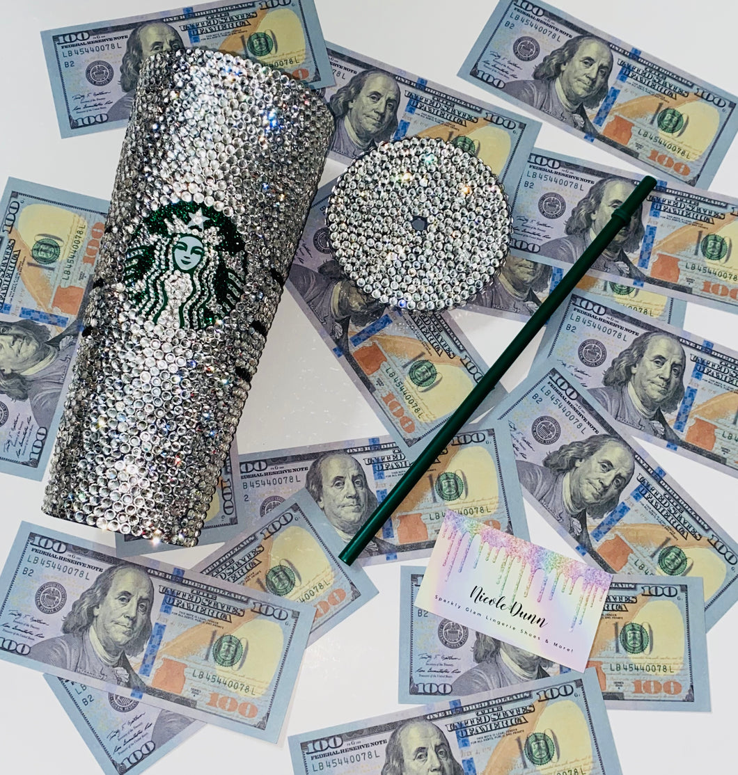 Crystal Blinged Out Cup Grande Or Venti?