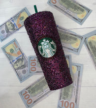 Amethyst Purple Crystal Blinged Out Cup Grande Or Venti?