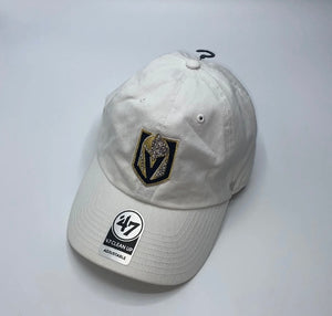 Las Vegas Golden Knights Baseball Hat In White