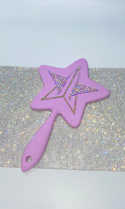 "Jeffree Star Hand Mirror ""Blood Lust"" Lilac Purple Star"