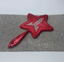 "Jeffree Star Hand Mirror ""Metallic"" Red Star"