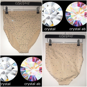 "Crystal AB & Diamonds ""Starlight"" High Style"
