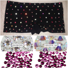 "Glitzy Sparkly ""Starlight"" HotPants Mini Shorts"