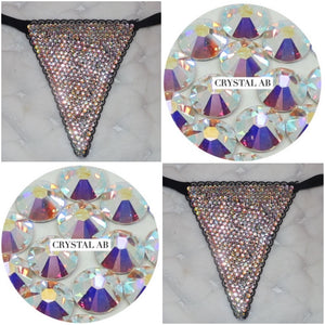 "Crystals AB ""Bombshell"" Black G Style"