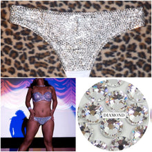 "Luxury Crystal Diamond ""Bombshell"" Thong Style"