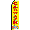 CARTOON CAR WASH SWOOPER FLAG # SF3