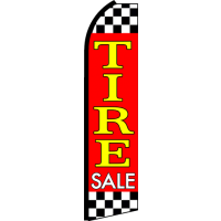 TIRE SALE SWOOPER FLAG # RY9