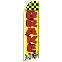 BRAKE SPECIALIST SWOOPER FLAG # SF0037