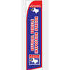 TEXAS INSPECTION SWOOPER FLAG - NEW! # SWTX1