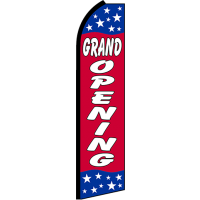 GRAND OPENING SWOOPER FLAG # RJ4