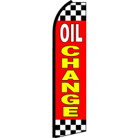 OIL CHANGE SWOOPER FLAG # RQ2