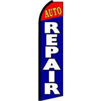 AUTO REPAIR SWOOPER FLAG # SC9