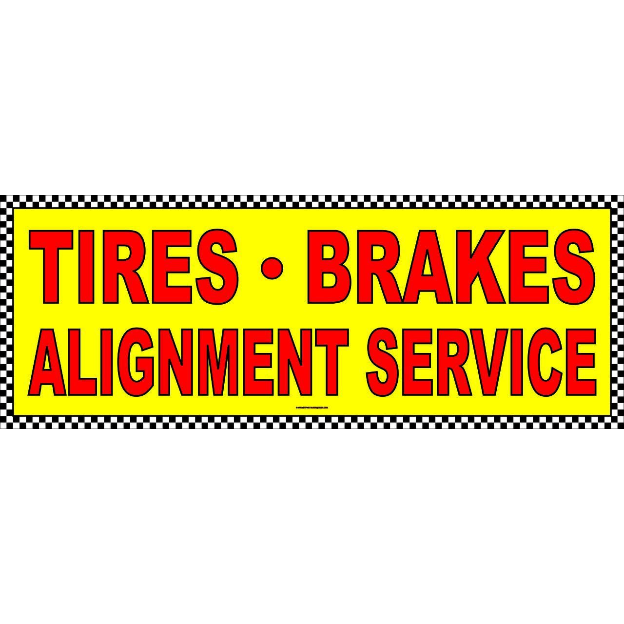 TIRES BRAKES ALIGNMENT AB702CHK