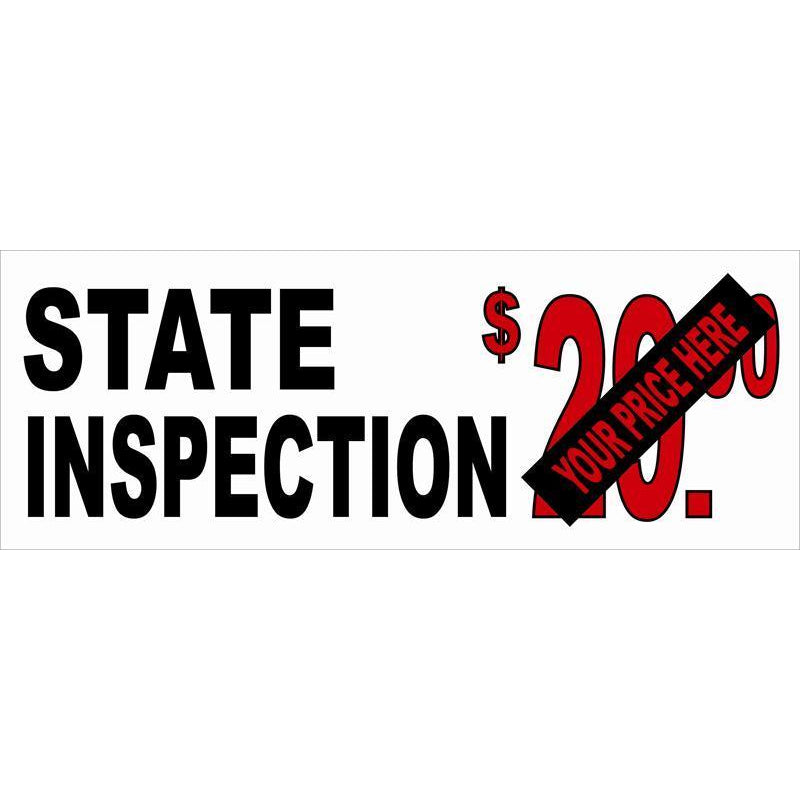 STATE INSPECTIONS BANNER #AB119
