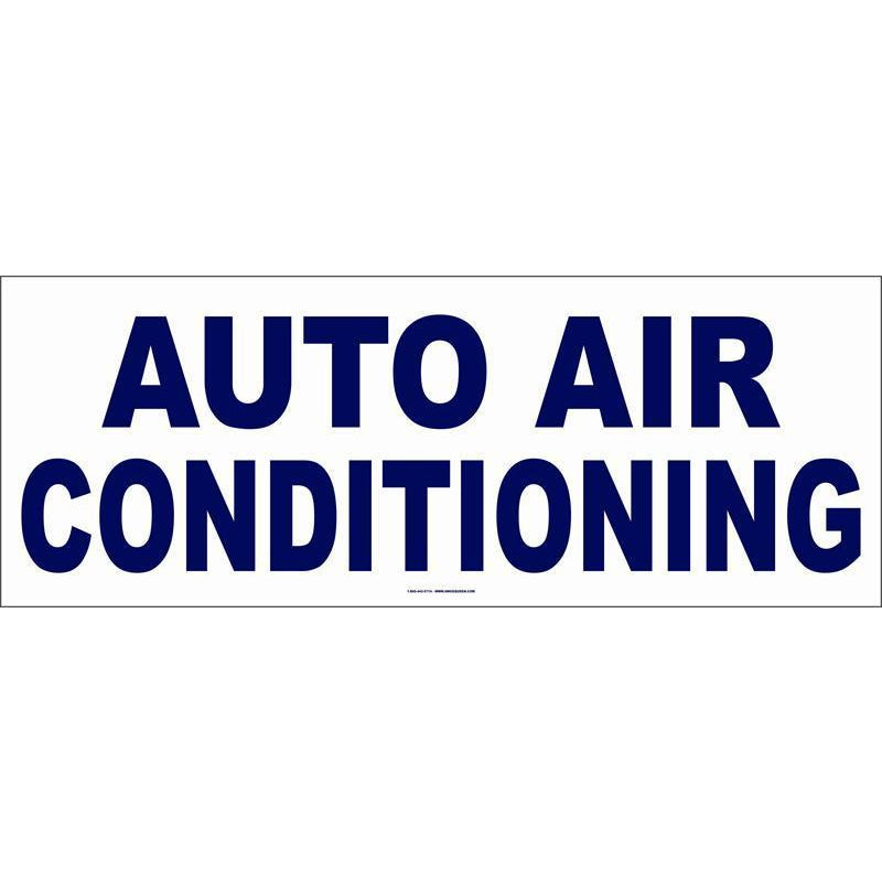 AUTO AIR CONDITIONING BANNER  #AB154