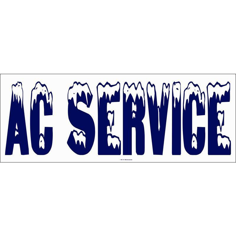 A/C SERVICE BANNER  #AB209