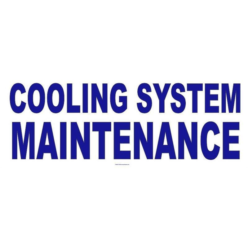 COOLING SYSTEM BANNER #AB214