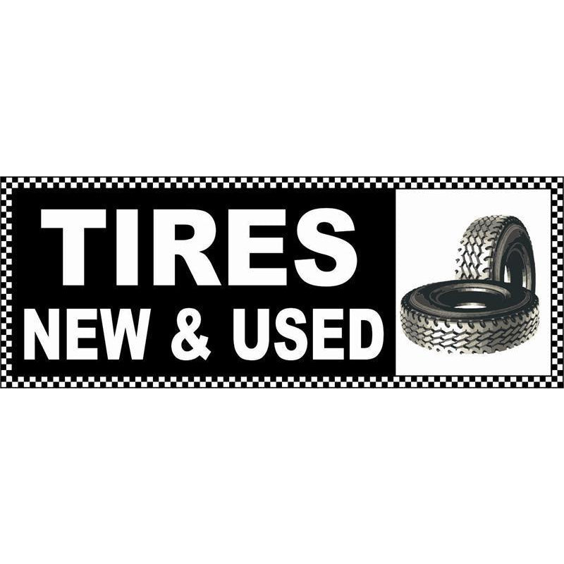 USED TIRES BANNER #AB22NEWCHK