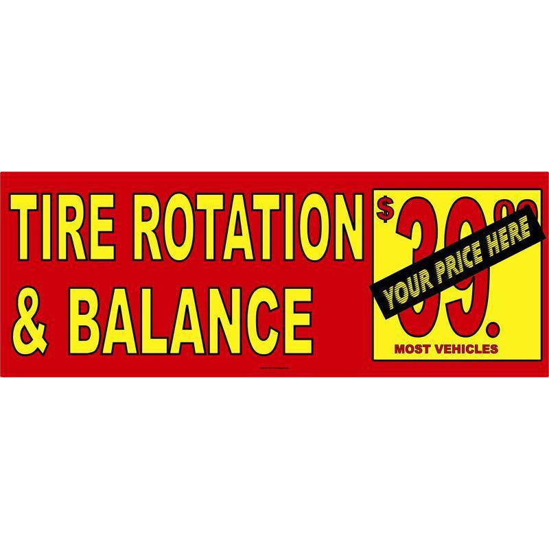 TIRE ROTATION BANNER #AB263
