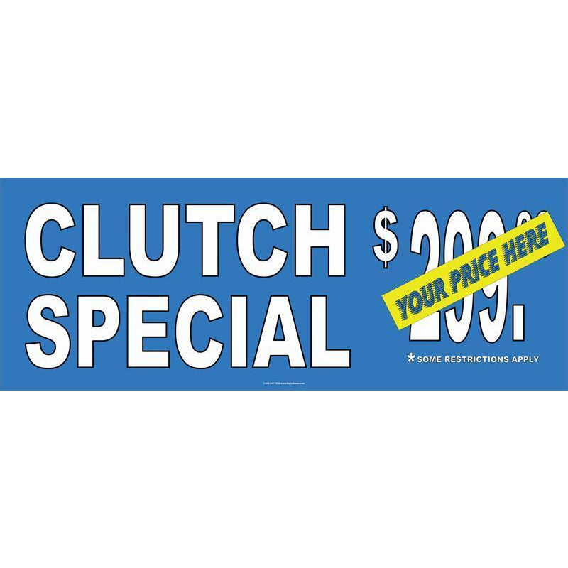 CLUTH SPECIAL BANNER #AB32