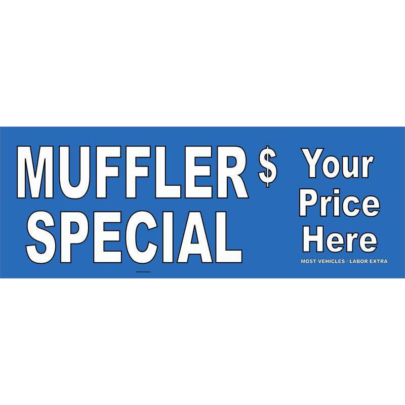 MUFFLER SPECIAL $ BANNER #AB73