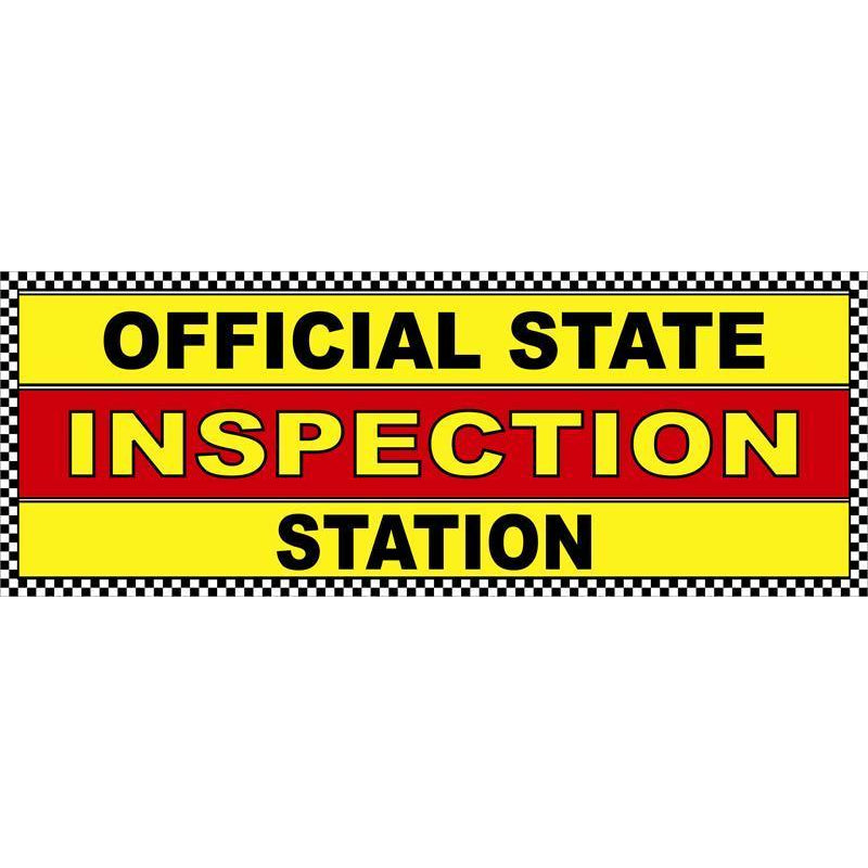 STATE INSPECTION BANNER #ABSLO