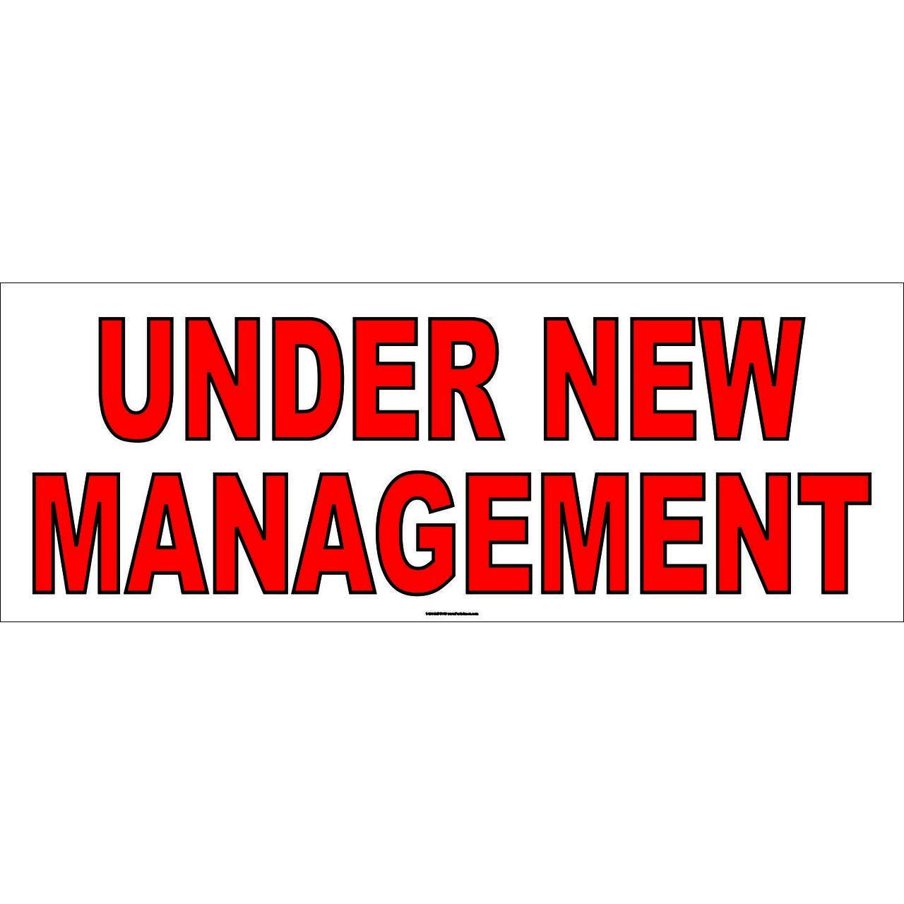 UNDER NEW MANAGEMENT # AB60