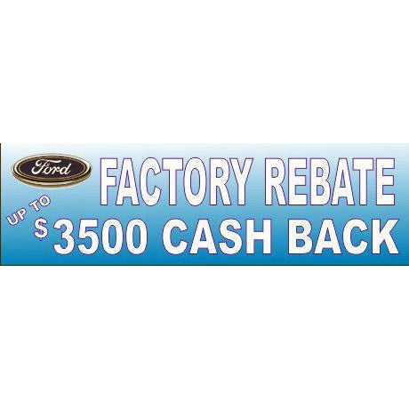 FACTORY REBATE BANNER #DB09