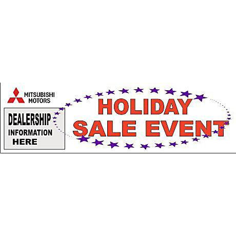 Mitsubishi Holiday Sale Event Banner