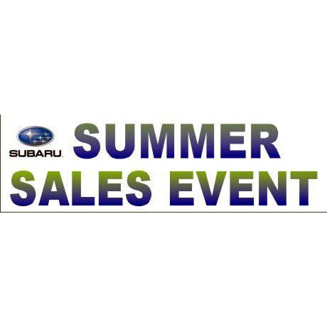SUBARU Summer Sales Event Banner